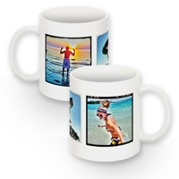 Photo Mug - 3 Square Images