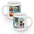 Standard white Mug with 10 square images