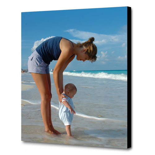 A2 - 42.0 cm x 59.4 cm Canvas - 1.5 inch Black Wrap