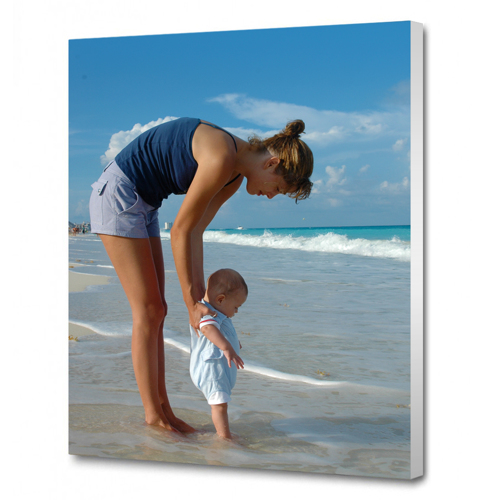 A0 - 84.1 cm x 118.9 cm Canvas - 1.5 inch White Wrap