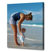A4 - 21.0 cm x 29.7 cm Canvas - 20mm Image Wrap
