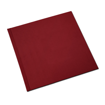 12 x 12 (HP) Basic Red Linen Photo Book