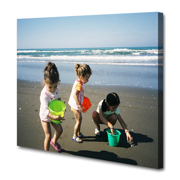 8x10 Horizontal - Image Wrap - Thin Bars