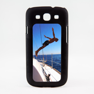Galaxy S3 - Black Illusion Case