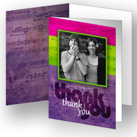 Musical Thanks Set of 25 Cards