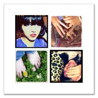 Collage avec 4 photos carrées - 6 x 6