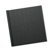 8 x 8 Matte Black Spring Book
