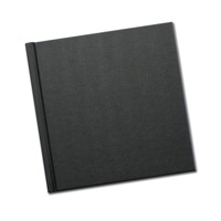 8 x 8 (Unibind) Black Linen Photo Book