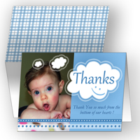 Thankful Thoughts - Blue Set of 25 Cards
