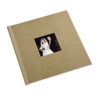 12 x 12 (HP) Embossed Leather Photo Book with Window