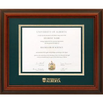 u of a diplomat diploma frame alberta1215d university of alberta - Diploma Frames