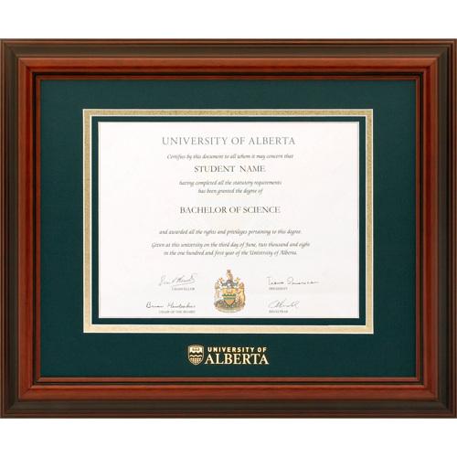U of A Diplomat Diploma Frame - ALBERTA1215D - University of Alberta ...