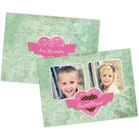 Sweet Heart<br>5x7<br>Double Sided