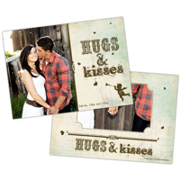 Hugs & Kisses<br>5x7<br>Double Sided