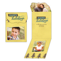 Trees of Cheer<br>5x7 Trifold<br>Ornate Flap