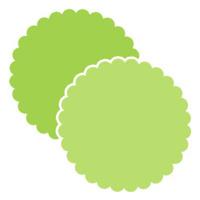 Plopper<br>5x5<br>Scalloped Circle