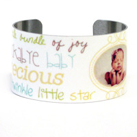 Baby<br>Metal Cuff Bracelet