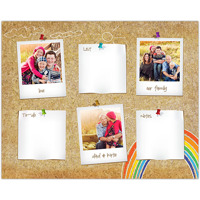 Thumb Tack<br>Dry Erase Magnet Board<br>16x20