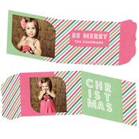 Party In Pink<br>5x7 Tri Fold<br>Ornate Flap