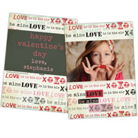 XOXOXO<br>5x7<br>Double Sided