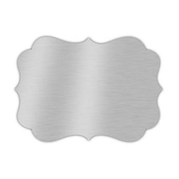Plopper<br>Ornate Metal Brushed<br>8x11