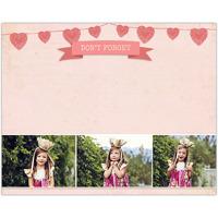 Heart Strung<br>Dry Erase Magnet Board<br>11x14