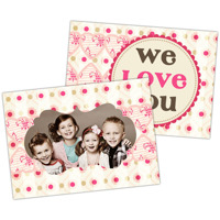 Love You<br>5x7<br>Double Sided