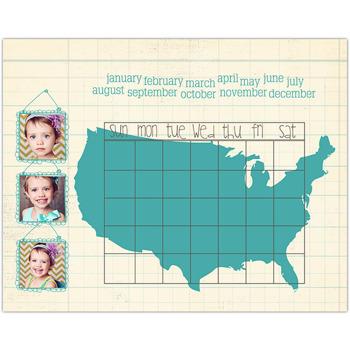 America<br>Dry Erase Magnet Board<br>11x14