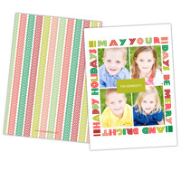 Be Merry & Bright<br>5x7<br>Double Sided