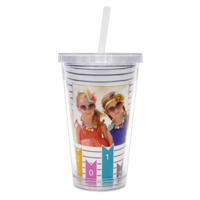 Rainbow Glitz<br>Tumbler Cup