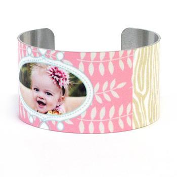 Berry Patch<br>Metal Cuff Bracelet