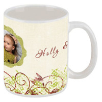 Holly & Mistletoe<br>15oz. Mug