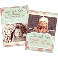 Baby Chic<br>5x7<br>Double Sided