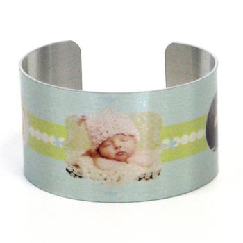 Bella Ella<br>Metal Cuff Bracelet