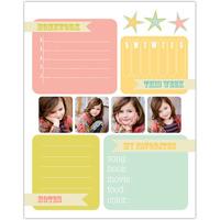 Pastel Favorites<br>Dry Erase Magnet Board<br>16x20