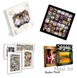 Collage Canvas, HD Metal & Metal Panel Mounts