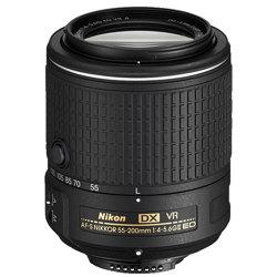 Nikon-AF-S DX NIKKOR 55-200mm F4-5.6G ED VR II-Lenses - SLR & Compact System