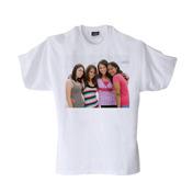 Youth X-Large White T-Shirt