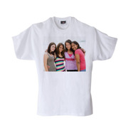 Youth Medium White T-Shirt