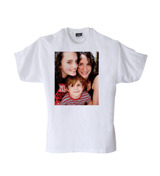 Adult Medium White T-Shirt