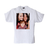 Adult Large White T-Shirt