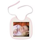 Bavette pour bébé (rose)