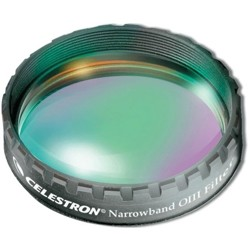 "Celestron-Oxygen III Narrowband Filter - 1.25"" #93623-Telescope Accessories"