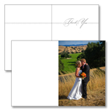 Personalized Folded Thank You Card
