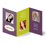 Accordion Grad Card (13-074-5x7)