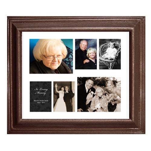 Framed Collage Print (20x24_H walnut)