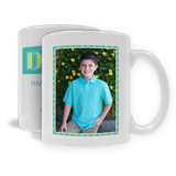 "11oz. White Ceramic Mug ""Dad"" Single Image, Vertical (PG-71F_V)"