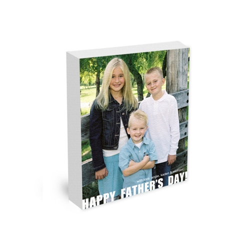 11x14 Canvas Wrap (01 _V - Father's Day)
