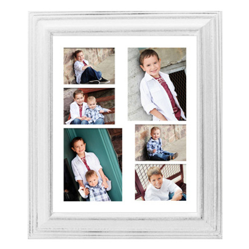 Framed Collage Print (20x24_V white)