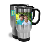 14oz Travel Mug Father's Day w/ Horizontal Image